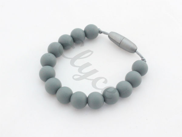 Bracelet de dentition all grey