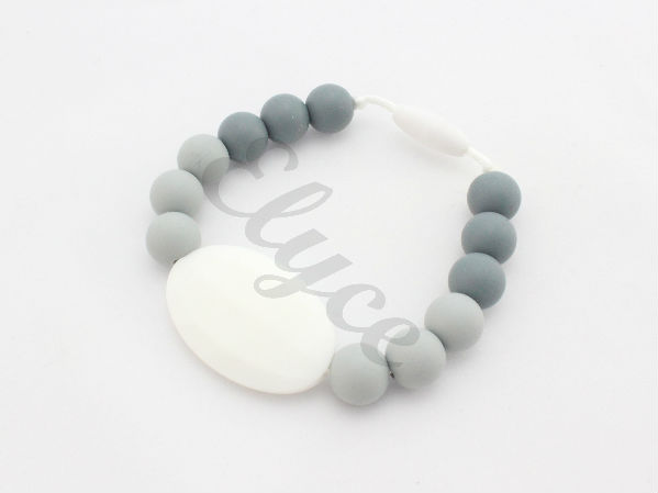 Bracelet de dentition grey decade