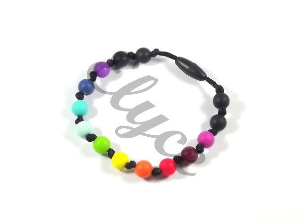 Les bracelets de dentition en silicone