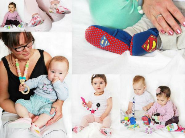 elyce photos chaussons bébés