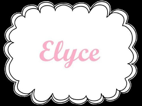 elyce attache tétine logo